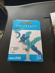 NANOBLOCK POKEMON ARTICUNO MINI BRICKS PUZZLE 170 PIECES NBPM-048