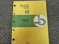 John Deere 3805 3807 Knuckleboom Loader Shop Service Repair Manual TM1028