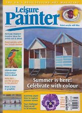 LEISURE PAINTER AUG 2016, THE UK'S BEST-SELLING LEARN-TO-PAINT MAGAZINE.