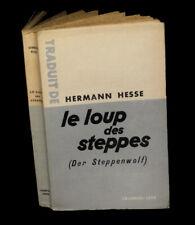 HESSE (Hermann) - Le Loup des steppes.