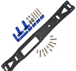 RC 1:10 Aluminum Graphite Sub Chassis for TAMIYA TA08 PRO 4WD-58693 New