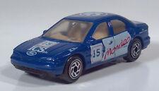 "1994 Matchbox Ford Mondeo Ghia 3"" 1:59 Scale Model ICS Rally Race Car Blue"