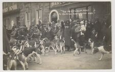 More details for oxfordshire postcard - the heythrop meet at chipping norton, jan 1932 - rp (a32)