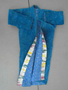 Chapan robe, Uzbek, central Asian, heavy, lined, men's large