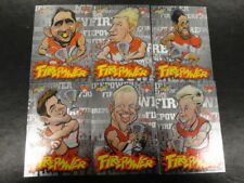 2013 AFL CHAMPIONS FIREPOWER CARICTURE CARD TEAM SET OF 6 SYDNEY