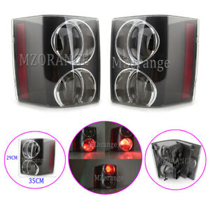Smoked Left Right Side Rear Tail Light Lamps For Land Range Rover L322 2002-2009