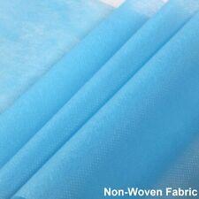 Blue Disposable Waterproof Non-Woven Fabric Cloth 95% Polypropylene For DIY Maks