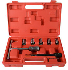 7PC Professional Diesel Injector Seat Cutter Cleaner Tool Set Carbon Remover
