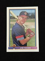 Jim Thome 1991 Bowman Rookie Baseball Card #68 Indians RC *NM-MINT or Better