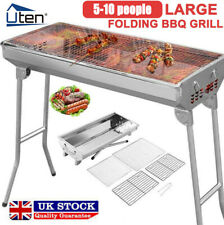 More details for folding bbq charcoal barbecue grill steel stainless garden picnic camping stove
