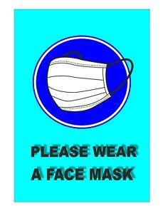 PLEASE WEAR A MASK SOCIAL DISTANCING Wear A Mask FOR SHOPS