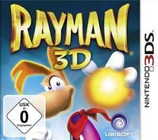 NINTENDO 3DS RAYMAN 3D DEUTSCH Neuwertig