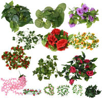 7.87FT Artificial Fake Faux Ivy Vine Plant Garland Wedding new L3O8