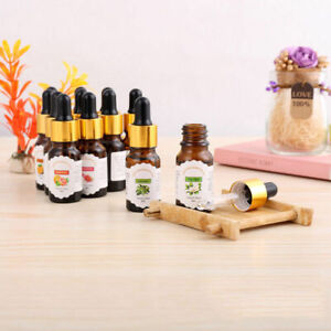 New 10ml Drop Design Essential Oil Pure & Natural Aromatherapy For Diffuser HOT