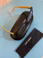 DSQUARED2 DQ 5235 Shiny Black 50//16//140 Women Eyewear Frame