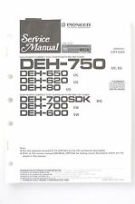 PIONEER deh-750/650/620/80/700/sdk/600 Original Service-Manual/Schema Elettrico! o67