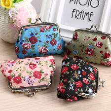 Handbag Retro Women Small Wallet Girls Change Coin Purse Hasp Clutch Card Holder