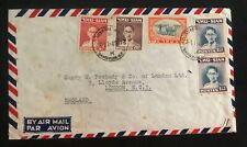 1949 Bangkok Thailand Airmail Commercial cover to London England