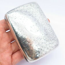 Horace Woodward & Co Ltd Antique Victorian Sterling Silver Cigarette Case Holder