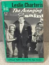 Leslie Charteris / THE AVENGING SAINT First Edition