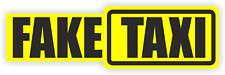 Fake Taxi Car Sign Sticker Decal Vinyl Sticker  Window / Bumper