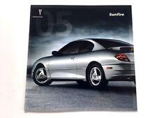 2005 Pontiac Sunfire Final Year Original Sales Brochure Catalog