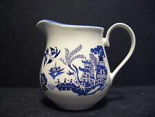 Willow Pattern English Fine Bone China Cream Jug By Milton China