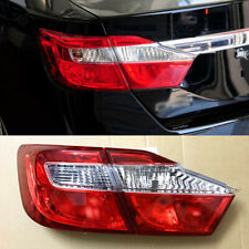 Rear Trunk Halogen Taillights Replacement Reflector Bumper Fit For Toyota Camry