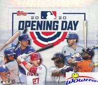 2020 Topps Opening Day Baseball MASSIVE Factory Sealed 36 Pack HOBBY Box-252 Cds