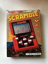 Boxed 1983 Vintage Grandstand Pocket Scramble LCD Handheld Electronic Game
