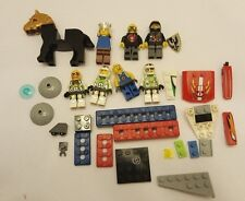 Vintage Lego Mini Figures + Legos And Accessories Lot