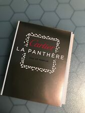 CARTIER LA PANTHERE EAU DE PARFUM Samples 1.5ML EA WOMEN