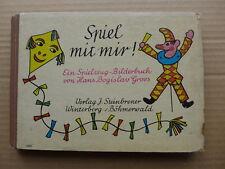 Hans Bogislav Groos - Spiel mit mir! Ein Spielzeug-Bilderbuch /  1943