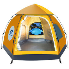 New Waterproof 5-6 People Automatic Instant Pop Up Tent Camping Hiking Tent