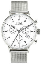 Gardé Ruhla Herrenuhr Uhr Chronograph Milanaise Bauhaus Design 91203M