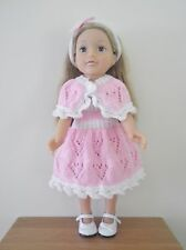 Hand Knitted Dolls Clothes for American Girl / Designafriend or similar  doll