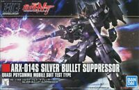 BANDAI GUNDAM HIGH GRADE - ARX-014S SILVER BULLET SUPPRESSUR  1/144 MODEL KIT
