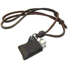 Schmuck Herren Halskette, Feuerzeug Modell Legierung Anhaenger Mit Verstell L3T6