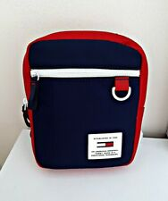 Tommy Hilfiger Jeans Urban Tech Reporter Bag Navy Red Shoulder Messenger Bumbag