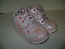 STRIDE RITE AURORA BABY TODDLER GIRLS SHOES ANKLE BOOTS size 5.5 M PINK LEATHER