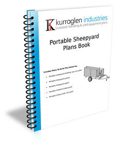 Plans Portable Sheep or Goat Yards Drafting Race on Trailer Book