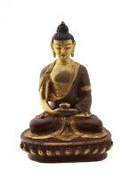 Soprammobile Tibetano Budda Amitabha Rame E Oro Nepal Budda AFR9-1847