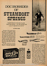 Steamboat Springs History of Dentist Old Doc Ironsides + local resident names