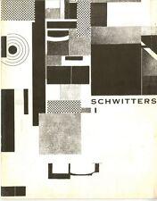 1962 Kurt SCHWITTERS Pasadena Art Museum Catalogue with Offset Lithograph POSTER