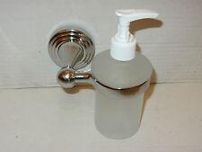 Soap Dispenser Chrome, Naples range. Wall Fitting