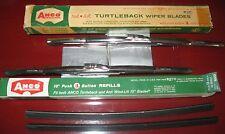 "ANCO 13"" Turtleback Wiper Blades SET_1957-58 Olds_Pontiac_Cadillac_Buick/59 Ford"