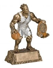 Monster basketball resin trophy - Free Engraving