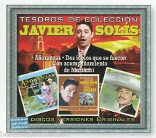 Javier Solis CD NEW Tesoros De Coleccion SET 3 CD's Con 35 Canciones SEALED