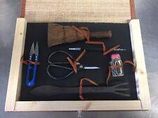 BONSAI TOOL KIT  ATTREZZI BONSAI-KIT 6 PZ Utensili Per Bonsai Attrezzi Gift Box