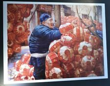 """Special Edition Number One Print, """"Raise the Red Lantern"""" by Zhang Xing.  Hand s"""